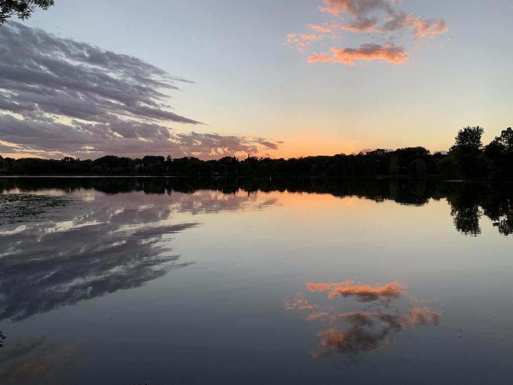 Lake of the Isles Sunset 1